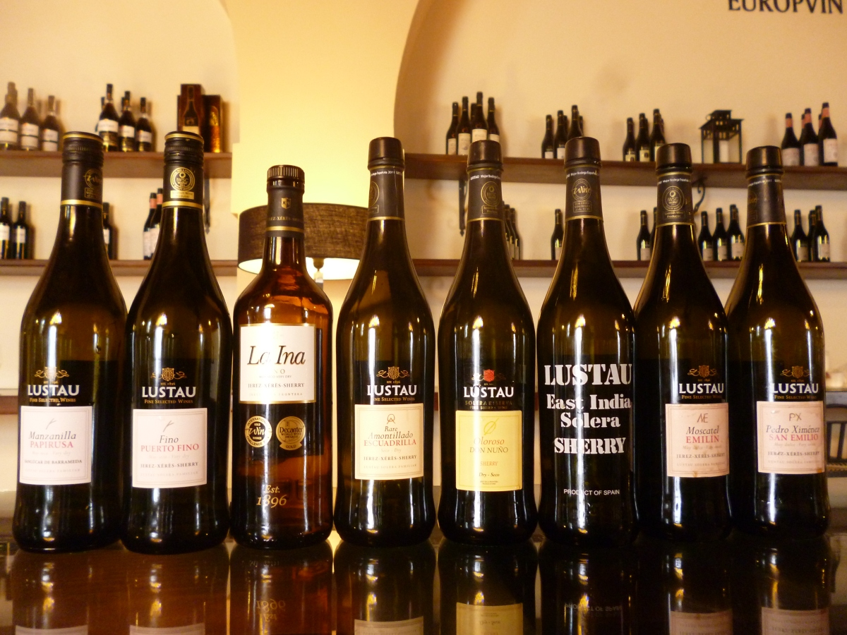 On the Sherry Trail: Emilio Lustau Bodegas