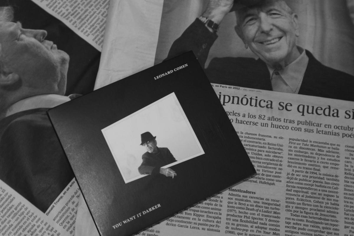 Leonard Cohen (1934-2016): A Sufi Maestro