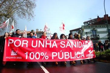 For 100% Public Healthcare - Galician United Left
