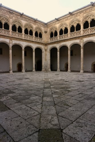 Patio of Colegio de San Gregorio